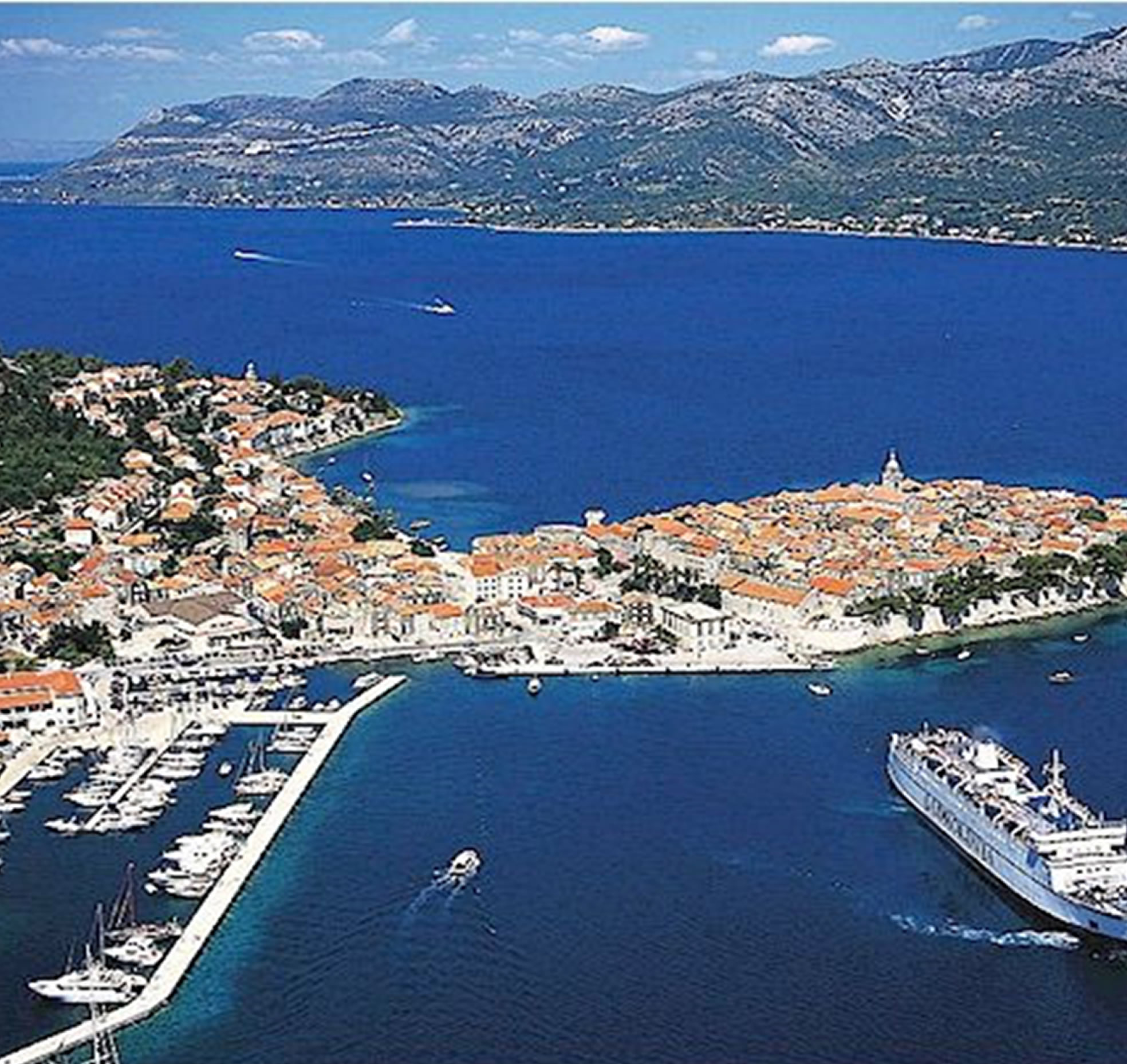 Multitenant business spaces in the City of Korcula