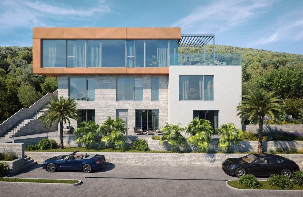 Villa project in Vrbovica island Korčula